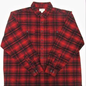 L.L. Bean Men's Cotton Chamois Shirt Size XXL